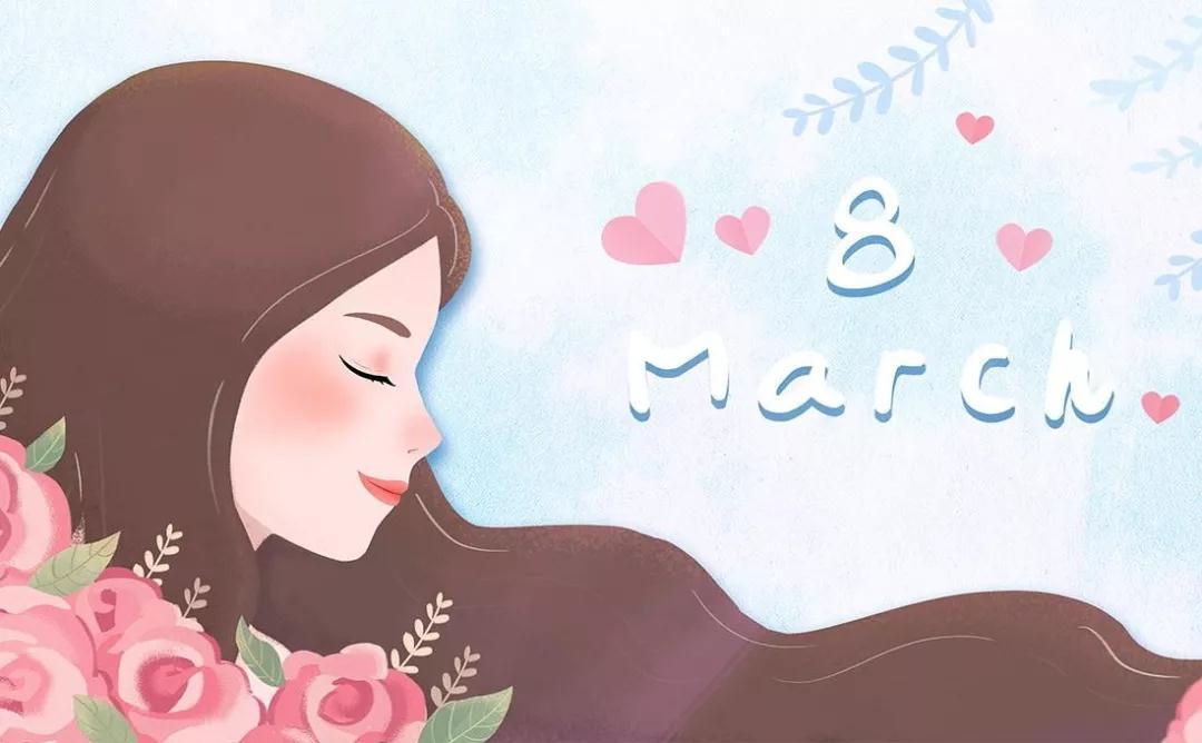【同桌的你|节日】女神节快乐 | 愿你芳华自在,笑靥如花