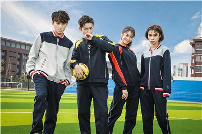 中学生校服袖子的设计构成是什么?