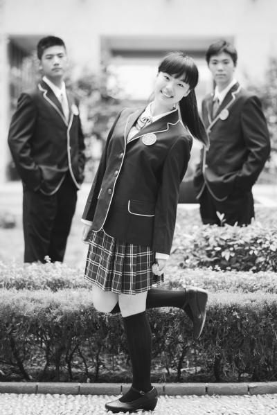 南京最美校服长啥样?