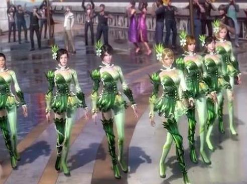 斗罗大陆绿色校服美啊,来看看现实版原谅色校服