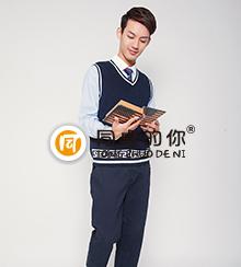 中学生春秋新款正装校园中国风QZ015z