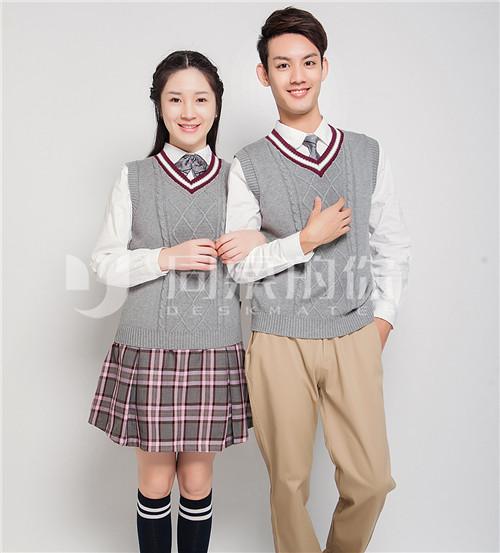 中学生春秋新款正装QZ019z